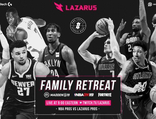 NBA Pros VS Lazarus Pros